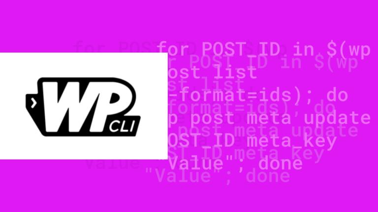 Executando comandos do wp-cli para múltiplos posts ou usuários
